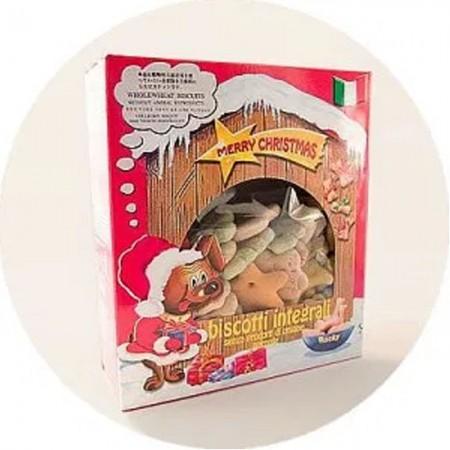 Snacks para perro de galletas navideñas 400 gr