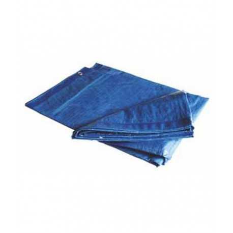 Tendalino rinforzato 4 x 6 mt 110 gr blu