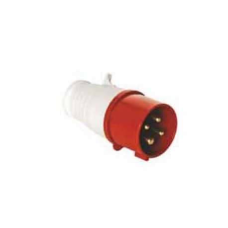 Spina industriale 3 pin 16a 380v