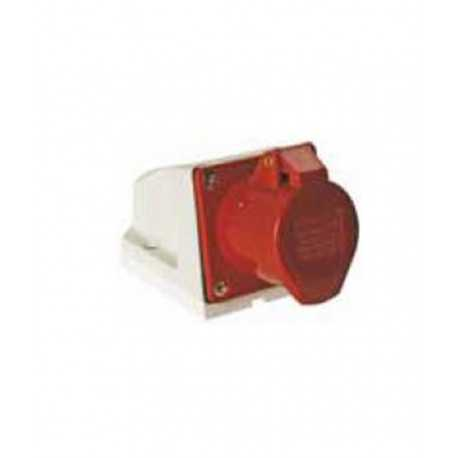 Base superficie industrial 3 p t 16a 380v