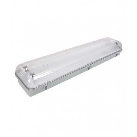 Lampada fluorescente impermeabile 2 x 18w