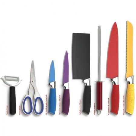 Set de cuchillos 8 piezas royal crown