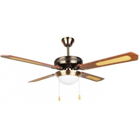 """Ventilatore da soffitto con lampada inclusa 52"""""""