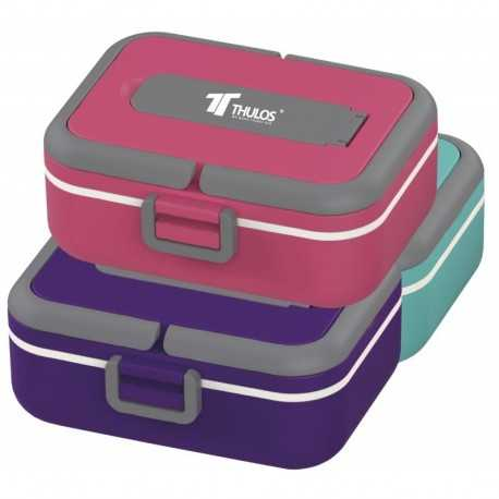 LUNCHBOX 0,75L THULOS TH-LB750 PAARS