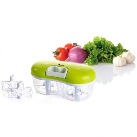 2-in-1 groentehakmolen en -blender