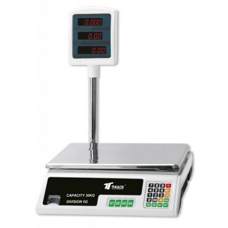 Elektronische digitale weegschaal 30 kg