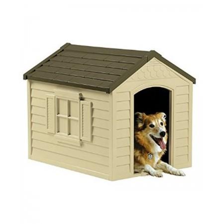 caseta de perro de 69x89x75 cm