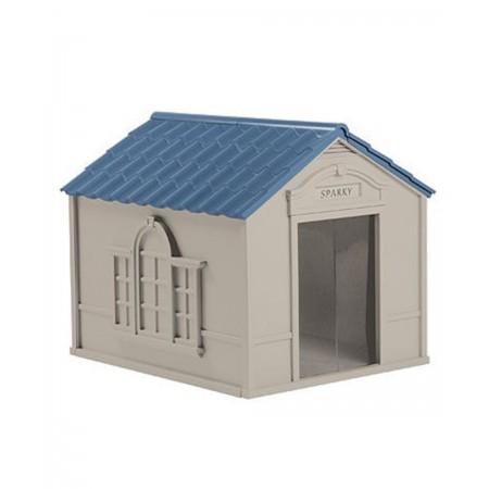 caseta de perro de 84x98x81 cm