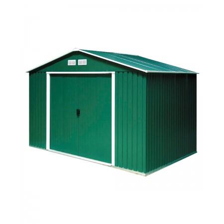 capannone in metallo 3,2x2,40 mt. colore verde