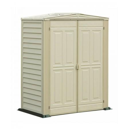 caseta de pvc de 1,6x0,8 mtrs incluye suelo color marfil