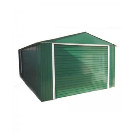 garage in metallo 3,72x6,04 mt. colore verde