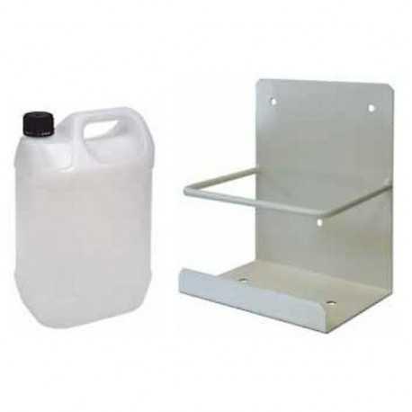 Bidón 5 lts para condensador + soporte