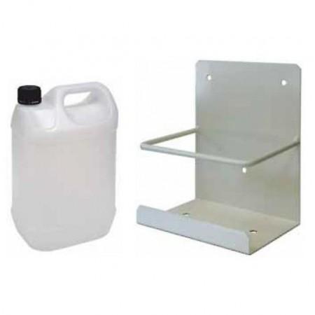 Bidón 10 litros para condensador + soporte
