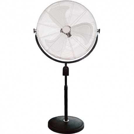 Ventilador de pie industrial de tres aspas 180W 66cm