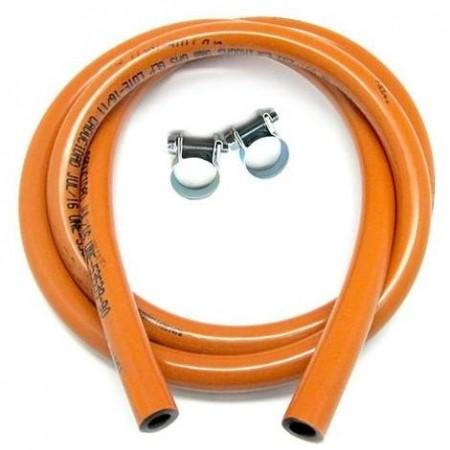 Tubo butano 1,5 mt + fascette