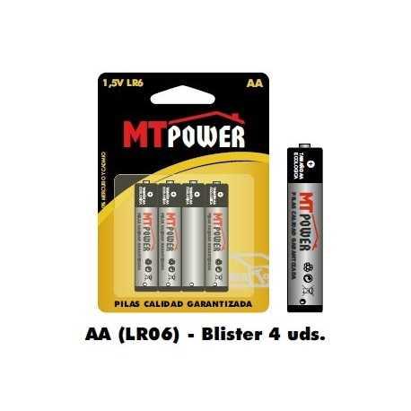 Pila Alcalina Power AA (Blister 4 unidades)
