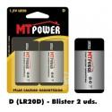 Pila Alcalina Power D (Blister 2 unidades)