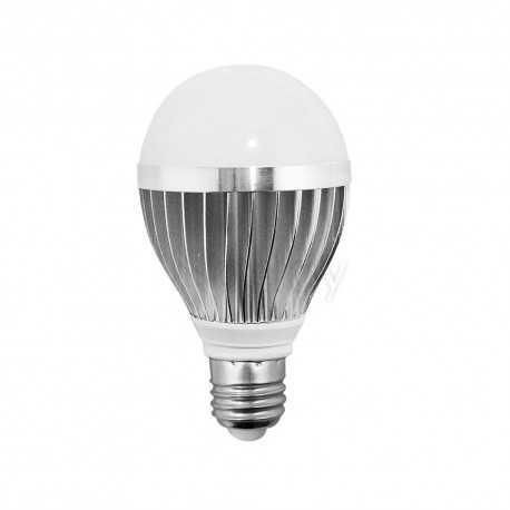 Bombilla LED standard 8W bajo consumo E27 mate