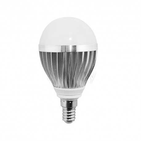 Bombilla LED esférica 4W bajo consumo E14