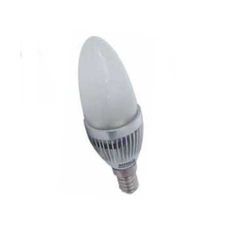 Bombilla LED vela 4W bajo consumo E14