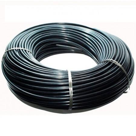 Microtubo PE 3x5mm. Colore nero. Bobina da 200 m