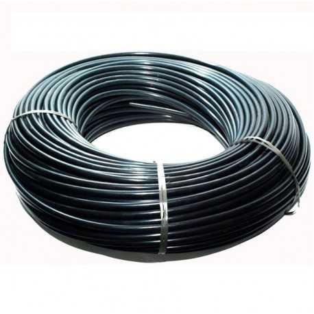 Microtubo PE 3x5mm. Color negro. Bobina 200 mts