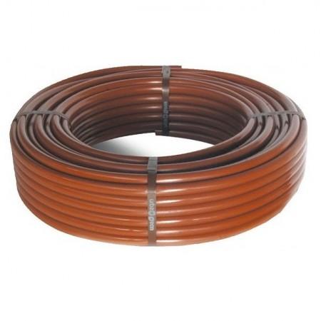 Tubo bianco marrone da 16 mm. 100 mt