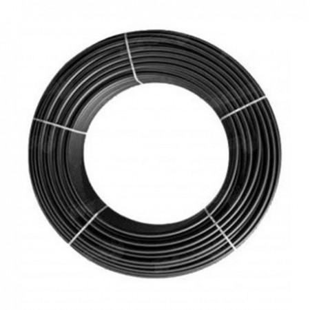 Tubo cieco nero da 16 mm. 50 mt