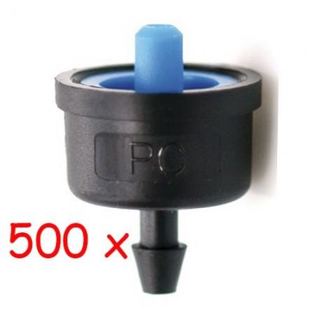 Gotero Turbulento 2,1 l/h iDROP. Bolsa 500 unidades