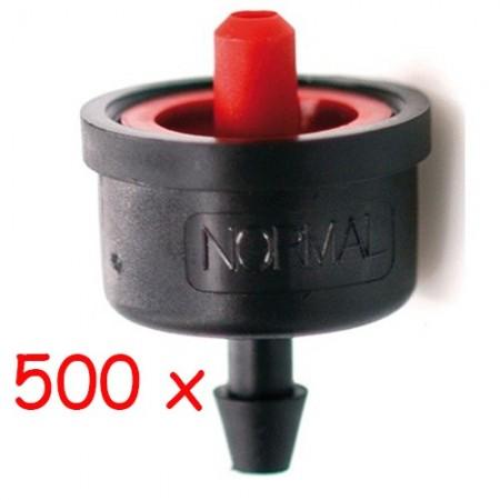 Gotero Turbulento 8,2 l/h iDROP. Bolsa 500 unidades