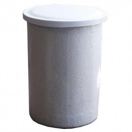 Depósito de poliéster fibra de vidrio 530 litros