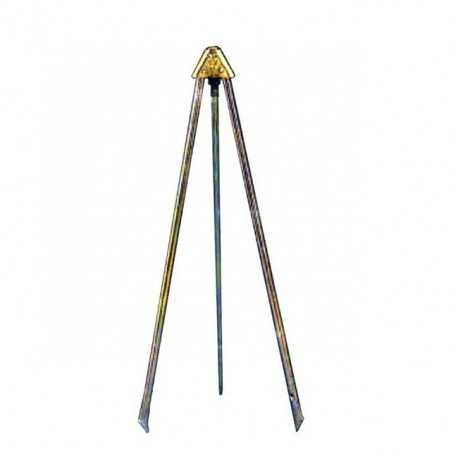 "Soporte tripode metal aspersores 3/4"" hembra"