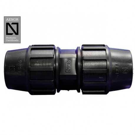 Enlace recto PE 50mm