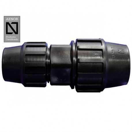 Enlace recto reducido PE 25mm - 20mm