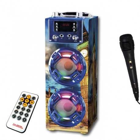 Altoparlante HiFi Bluetooth Karaoke Go Rock 2R'SOUND-II GR-WSK125L