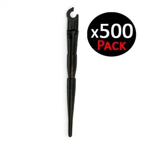 Estaca sujeción microtubo 5-6mm. 500 unidades