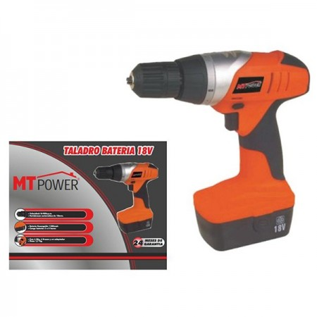 Taladro bateria mt power 18v