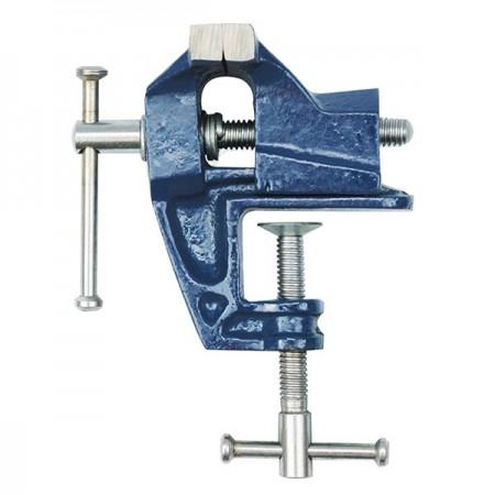 Tornillo de banco con palomilla - 60 mm