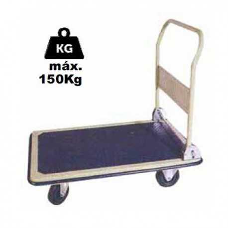 Carrello a pianale pieghevole - 150 kg