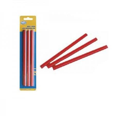 Pele de lápis de carpinteiro 3 unidades