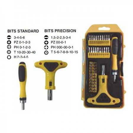 Set toolsbit 42 pzas