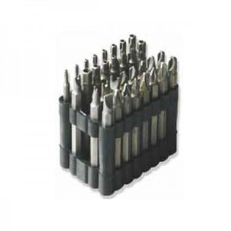 Set di punte lunghe 75 mm
