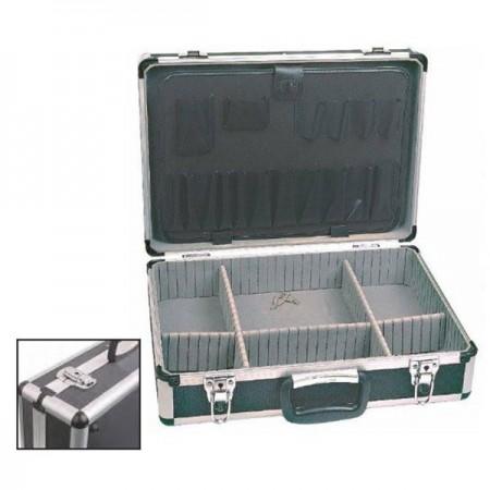 Gncgarden Valigia Alluminio + PVC 460x325x150