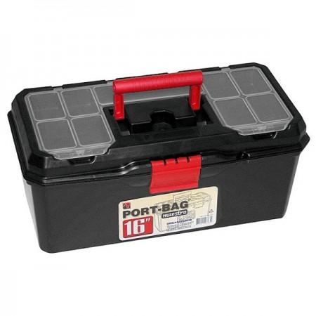 """Caja de Herramientas plástico 16"""" gncgarden"""