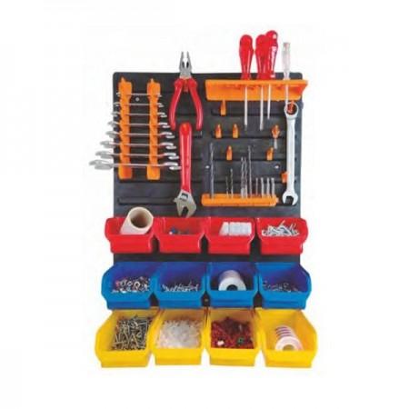 Mini Wall Workshop Organizer Kit