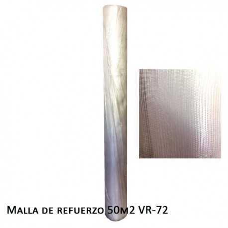 Malla de Refuerzo 50m2 VR-72 60grs