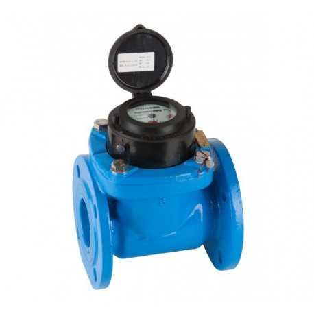 Contador de agua Woltman DN100 para tubo de 100 T30 Bridas PN16