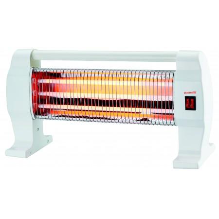 Stufa con radiatore al quarzo 400-800-1200WW