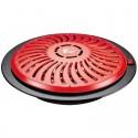 Brasero eléctrico 3 posiciones calor 400-900W