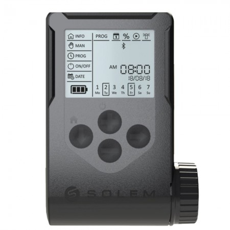 Solem WooBee 6 Stations Batterij Irrigatie Controller met Bluetooth